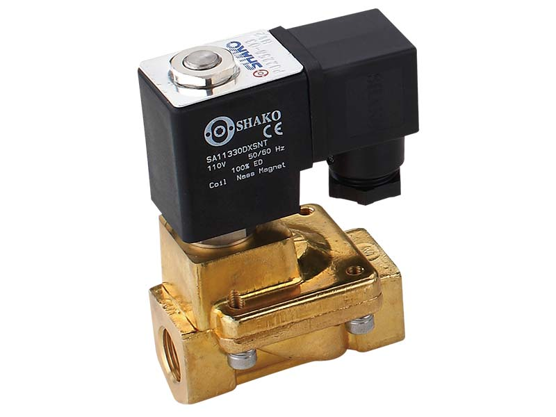 PU225A 2/2 Way Brass Solenoid Valve