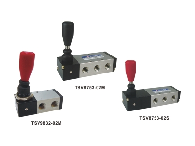 3/2 5/3 Way Hand Control Lever Valves