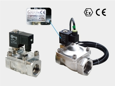 2/2 WAY SOLENOID VALVE (Stainless steel SUS316 series, Pilot acting)