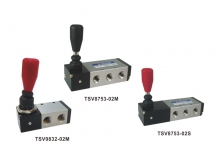 3/2 5/3 Way Hand Control Lever Valves