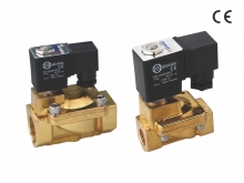 2/2 WAY SOLENOID VALVE (Brass series, Pilot acting)