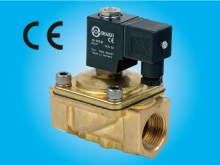 2/2 WAY SOLENOID VALVE (Brass series, Direct acting)