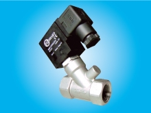 2/2 WAY Y TYPE SOLENOID VALVE (Stainless steel SUS316 series, Direct acting)